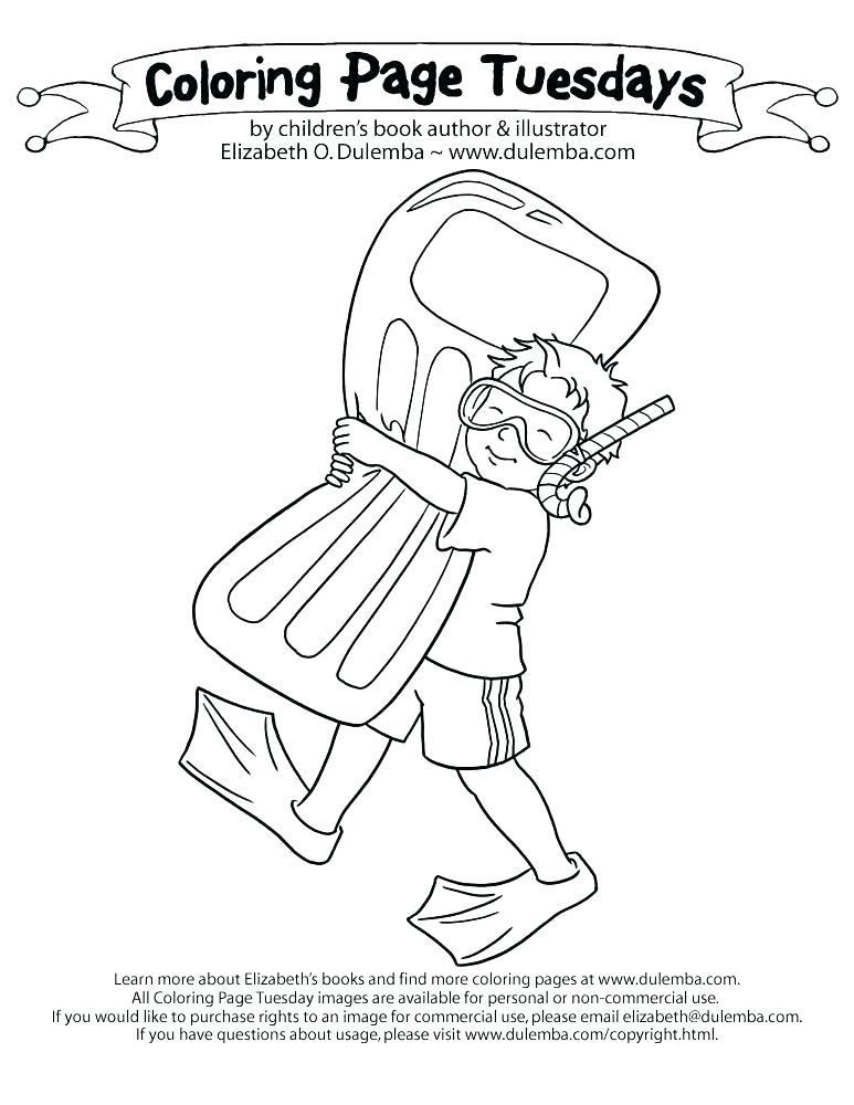 773x1000 Swimming Coloring Pages Iambelieveme Swimming Coloring Pages