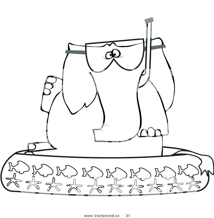 878x895 Pool Coloring Pages Swimming Royalty On Swimming Coloring Pages