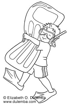 233x350 Coloring Page Tuesday