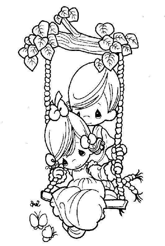 Swing Coloring Page At Getdrawings Com Free For Personal Use Swing