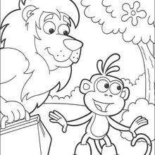 220x220 Swiper The Fox Coloring Pages