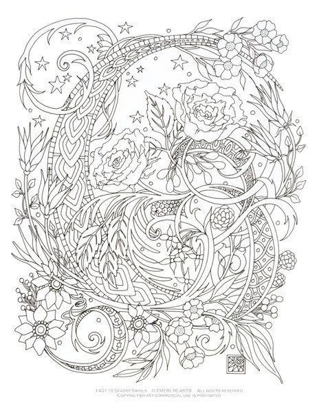 464x600 Best Coloring Pages Images On Adult Coloring Pages