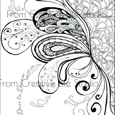 400x400 Swirl Coloring Pages Swirl Coloring Pages Paisley Splash Adult