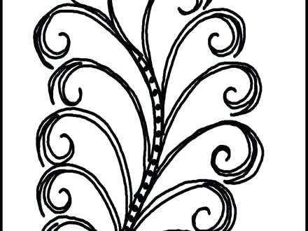 440x330 Swirls Coloring Pages Printable Adult Color Pages A Mandala