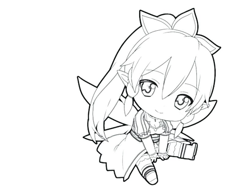 736x613 Sword Art Online Coloring Pages Anime Color Pages Boy Coloring