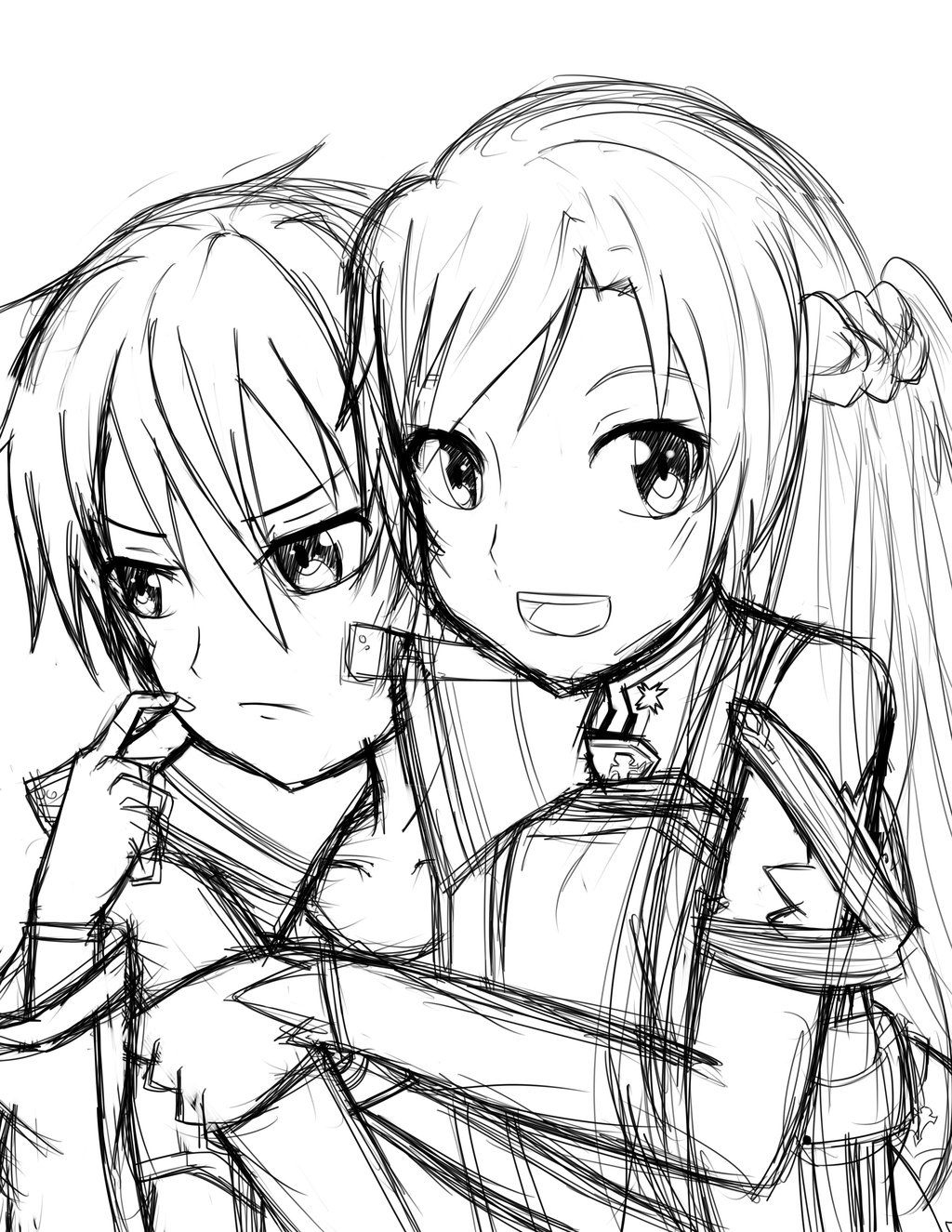 1024x1325 Sword Art Online Coloring Pages Awesome Sword Art Line Coloring