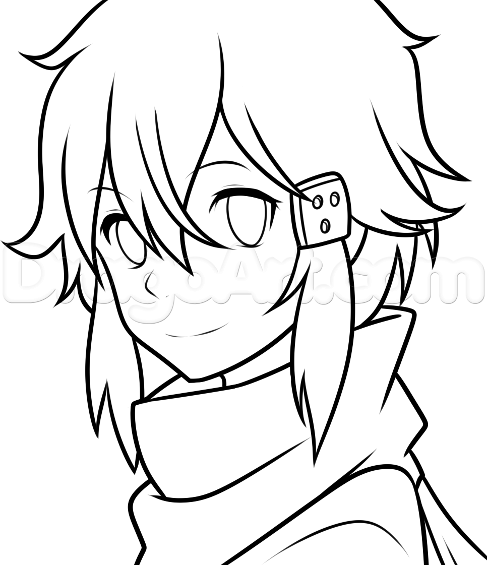 966x1121 Anime Coloring Pages Sword Art Online Fun Coloring Pages