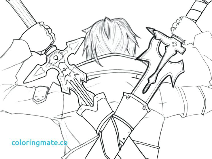 736x552 Sword Art Online Coloring Pages Sword Art Online Coloring Pages