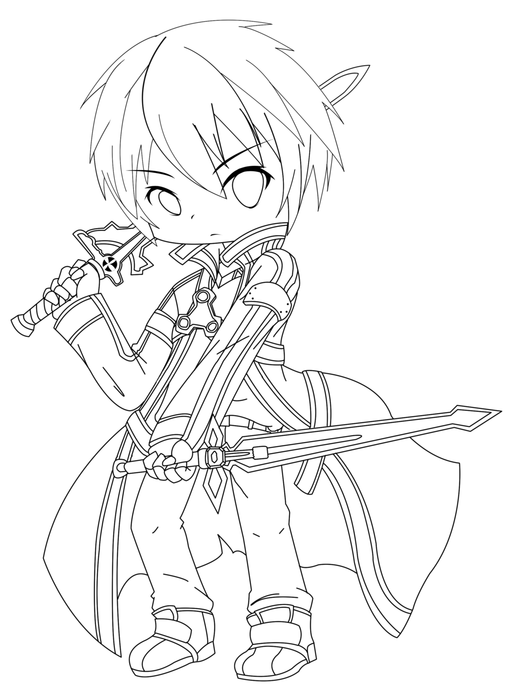 1024x1365 Chibi Coloring Pages Emo Chibi Colouring Pages Coloring Book
