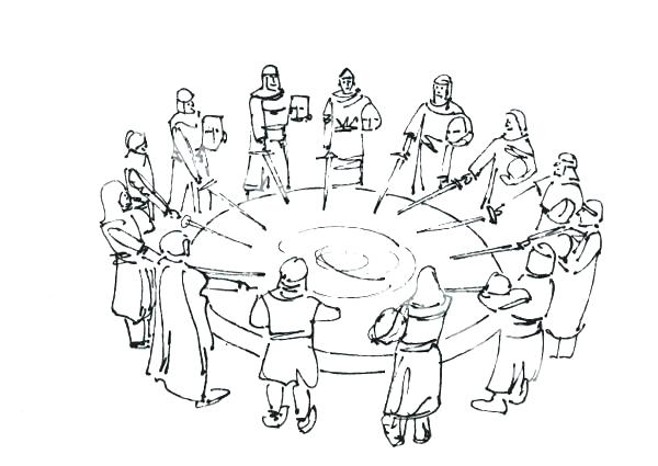 600x425 Sword In The Stone Coloring Pages
