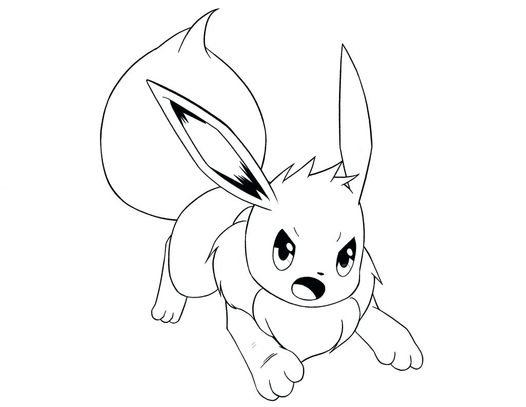 1024x793 Coloring Pages Coloring Pages Of Pokemon Eevee Evolutions