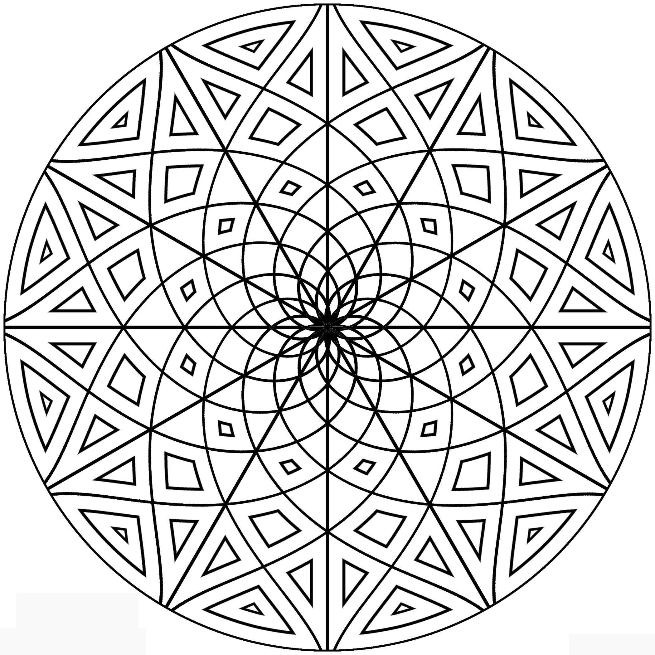 2100x2100 For Symmetrical Coloring Pages