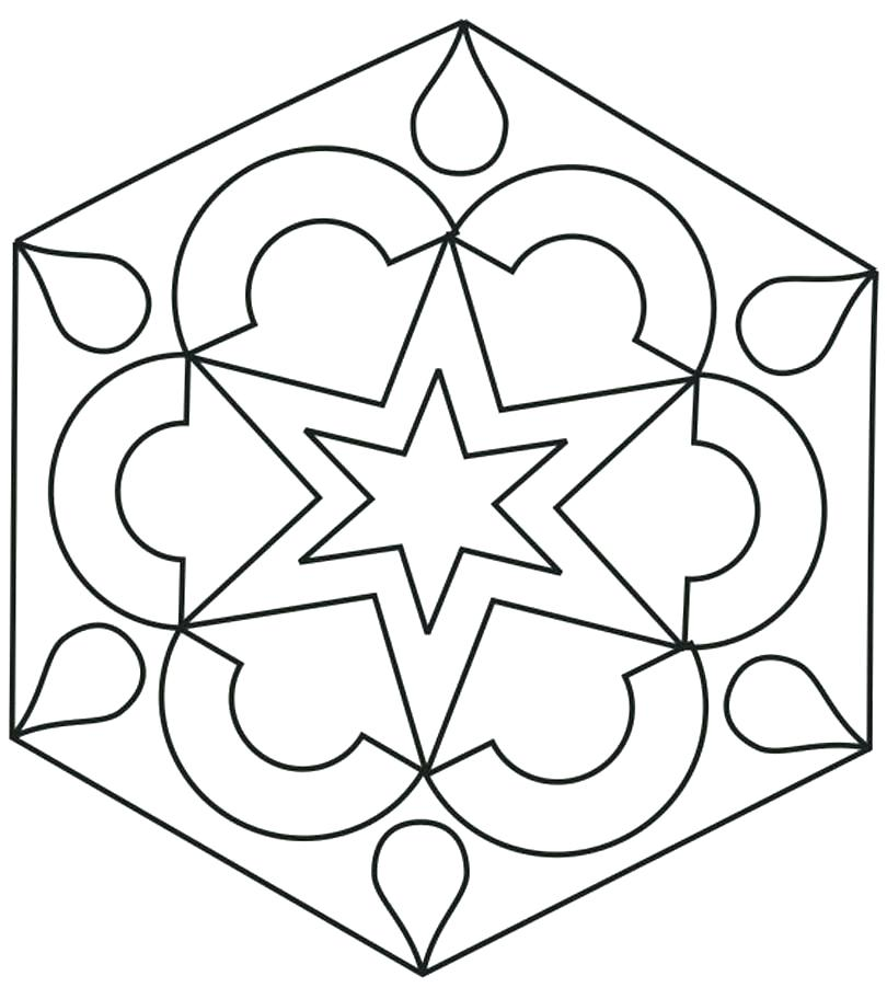 810x912 Symmetrical Coloring Pages Symmetrical Coloring Pages Symmetrical