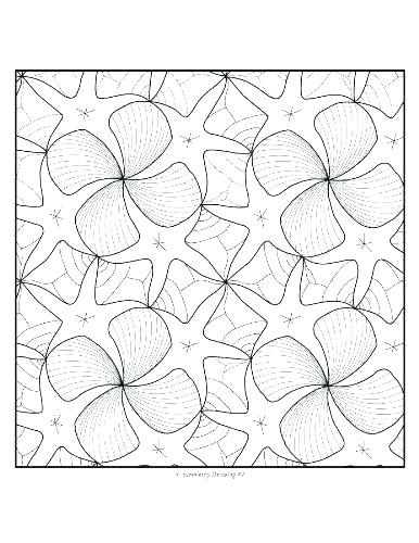 386x500 Symmetrical Coloring Pages Tessellation Coloring Sheets Coloring