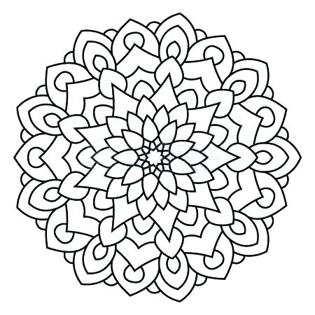 450x450 Symmetry Coloring Pages Free Printable Symmetry Coloring Pages