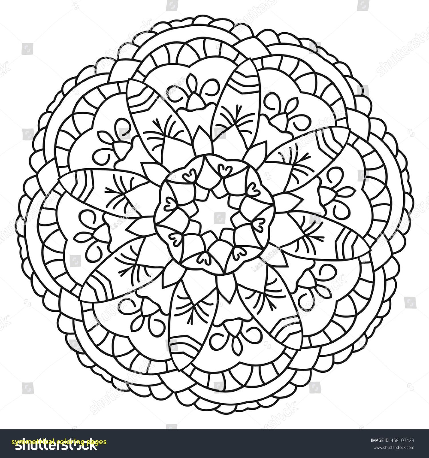 1500x1600 Astonishing Symmetrical Coloring Pages With Printable Kaleidoscope