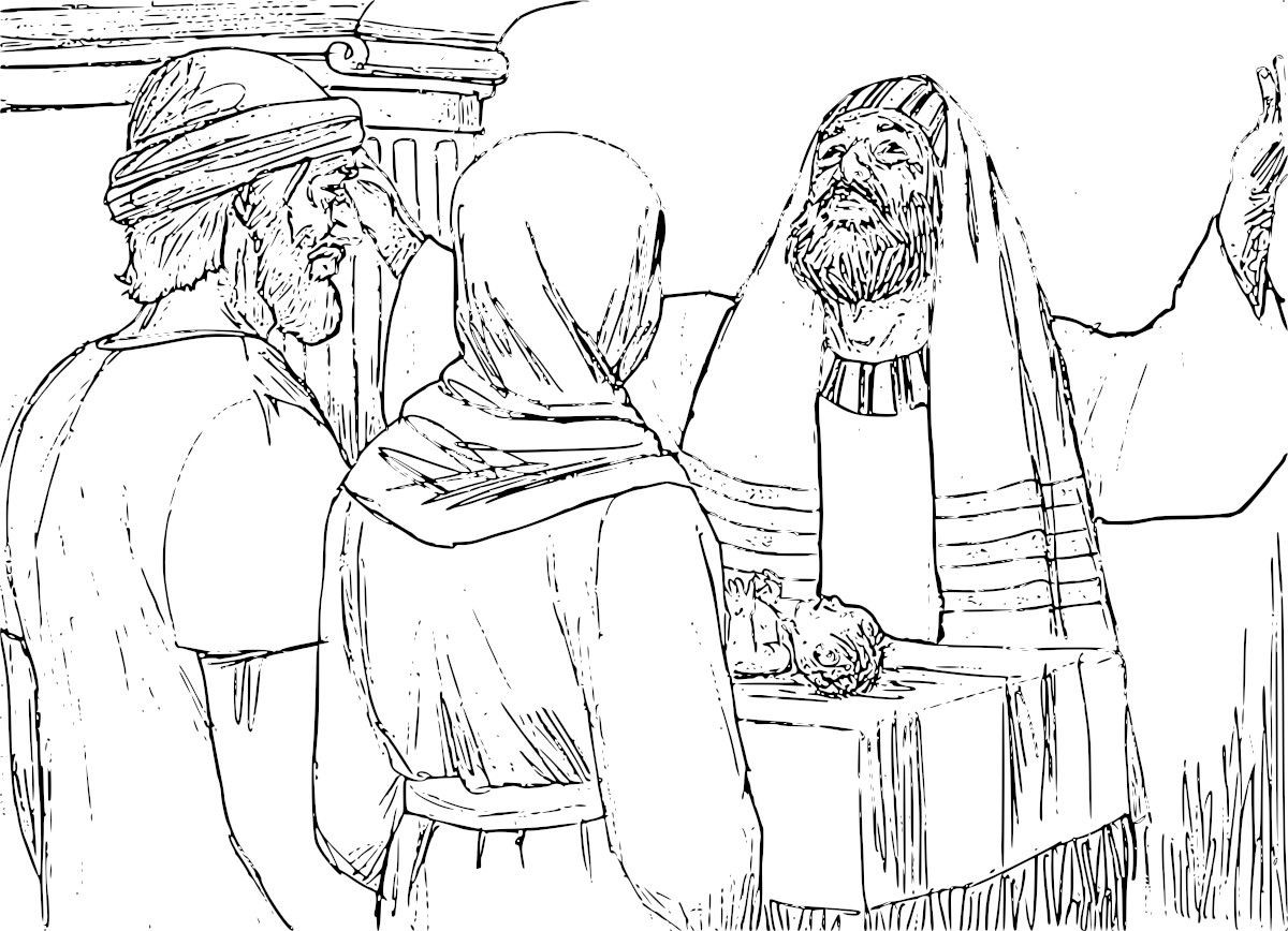 Synagogue Coloring Page At Getdrawings Com Free For Personal Use