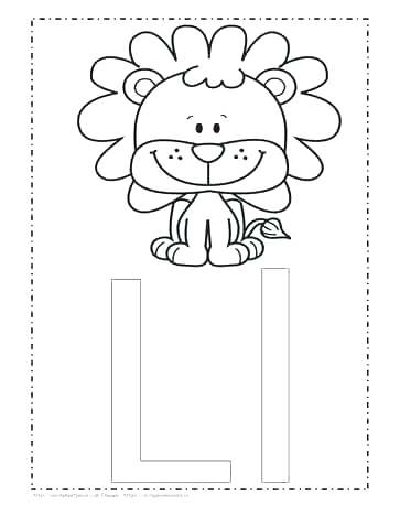 363x470 Letter T Coloring Pages Letter L Coloring The Letter L Coloring