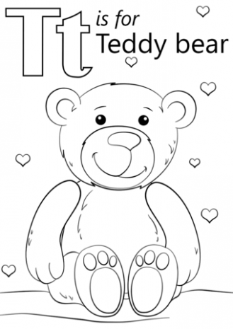 329x465 Alphabet T Coloring Pages Printable