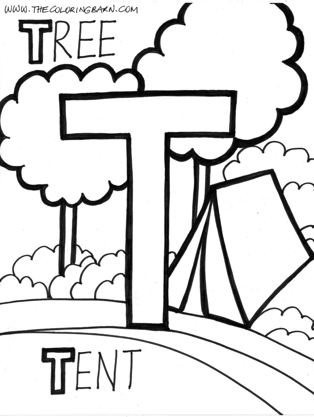 1000x1329 Pictures Letter T Coloring Pages In For Kids With Throughout
