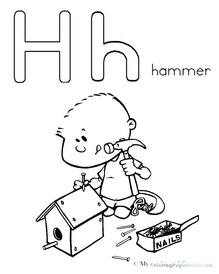 720x899 T Coloring Pages Letter H Coloring Page Letter H Coloring Pages