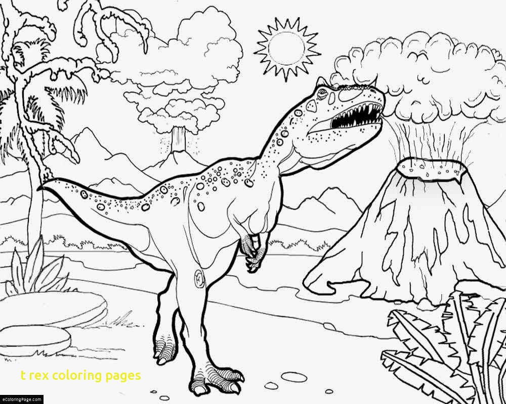 1000x800 T Rex Coloring Pages With T Rex Coloring Page T Rex Coloring
