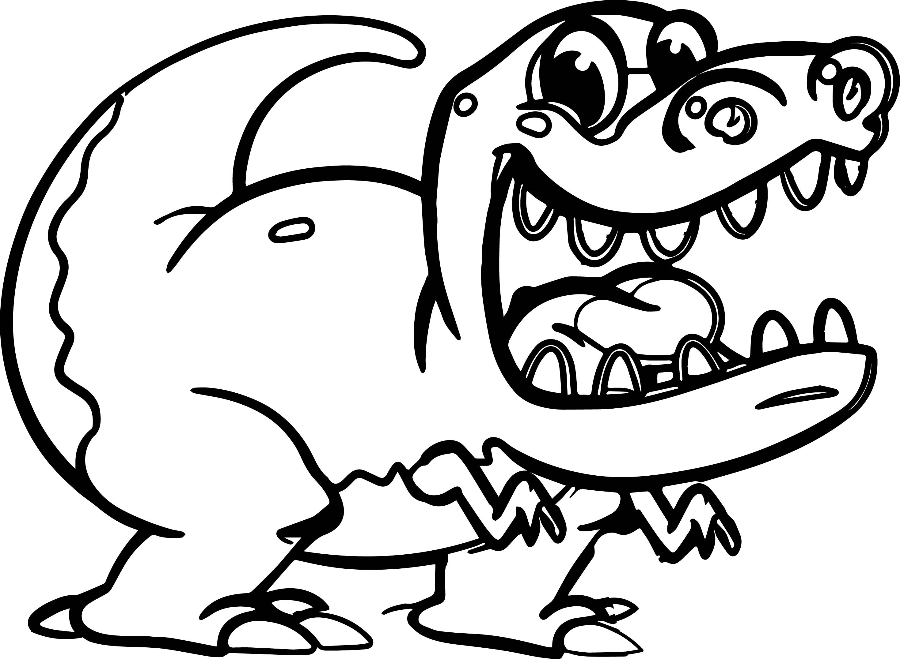 2937x2153 Angry Tyrannosaurus Rex Coloring Pages For Kids Luxury Morphle
