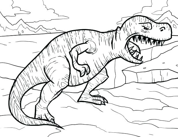618x477 Indominus Rex Coloring Page Together With T Color Page T Coloring