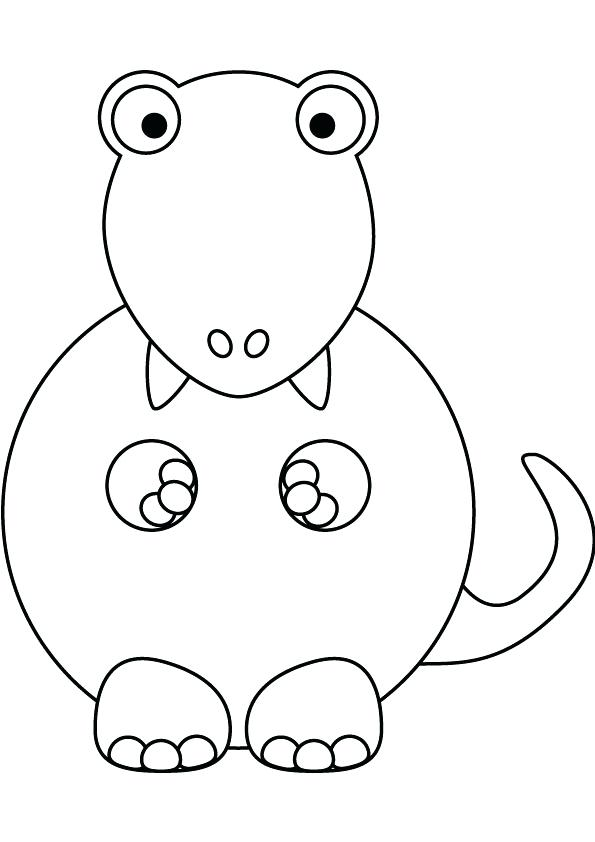 595x842 T Rex Coloring Page With Kids Baby Coloring Page Indominus Rex