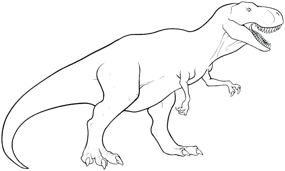970x581 T Rex Dinosaur Coloring Pages Coloring Pages Awesome T Coloring