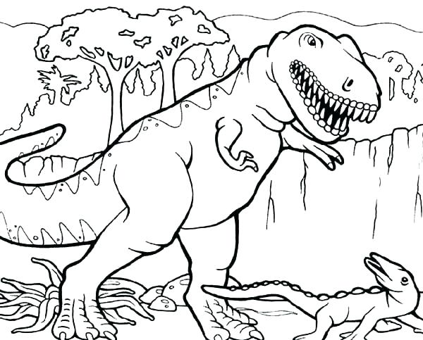 600x483 T Rex Coloring Pages Printable T Coloring Pages T Rex Skeleton