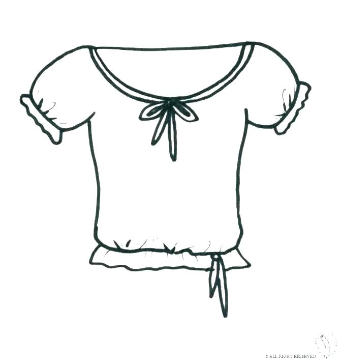 671x711 T Shirt Coloring Page Entertaining T Shirt Coloring Page Free