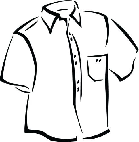 490x500 T Shirt Coloring Pages Blank Gingerbread Man Coloring Page