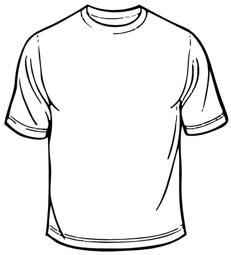 736x813 Tshirt Coloring Page T Shirt Coloring Page Blank T Shirt Coloring