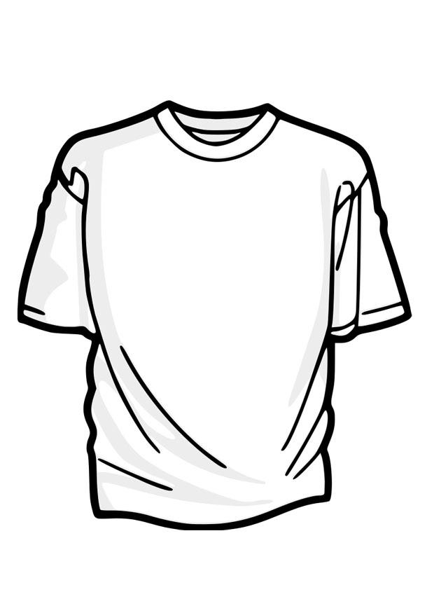 620x875 Coloring Page T Shirt