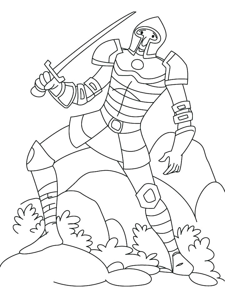 720x954 Knight Coloring Page Coloring Pages Of Knights Medieval Knight