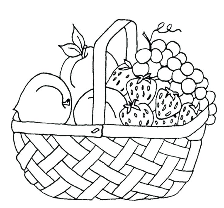 730x678 Pack For A Picnic Coloring Page Drawn Table Coloring Page Free