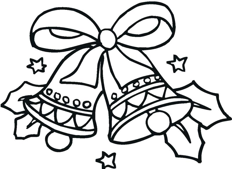 800x584 Bells Coloring Pages Bells Coloring Pages Bells Coloring Page