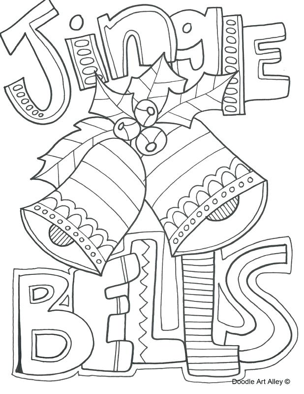 618x800 Coloring Pages Doodle Art Alley Jingle Bells Taco Bell Coloring