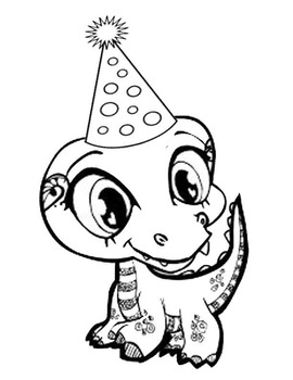 270x350 Dragons Love Tacos Coloring Page
