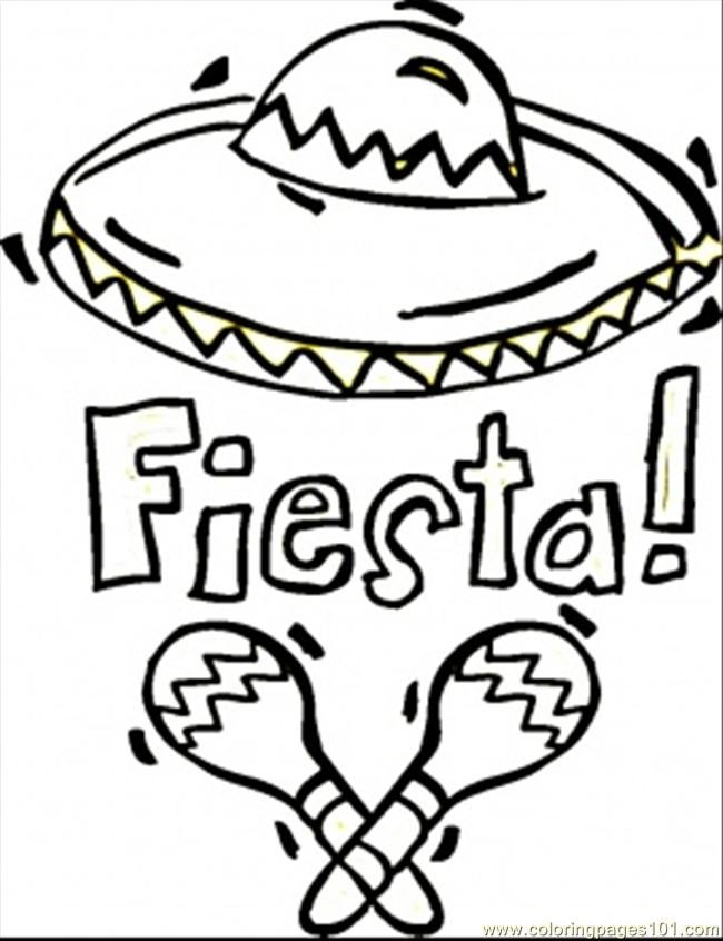 650x846 Fiesta Coloring Sheets Coloring Pages Fiesta