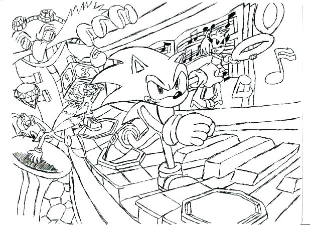 Tails The Fox Coloring Pages At GetDrawings Free Download
