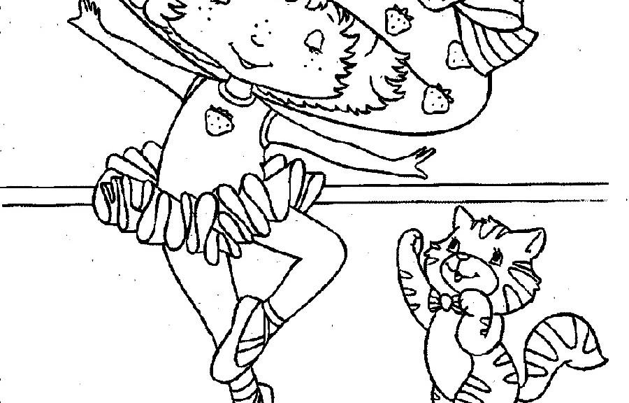 900x576 Ballerina Coloring Pages