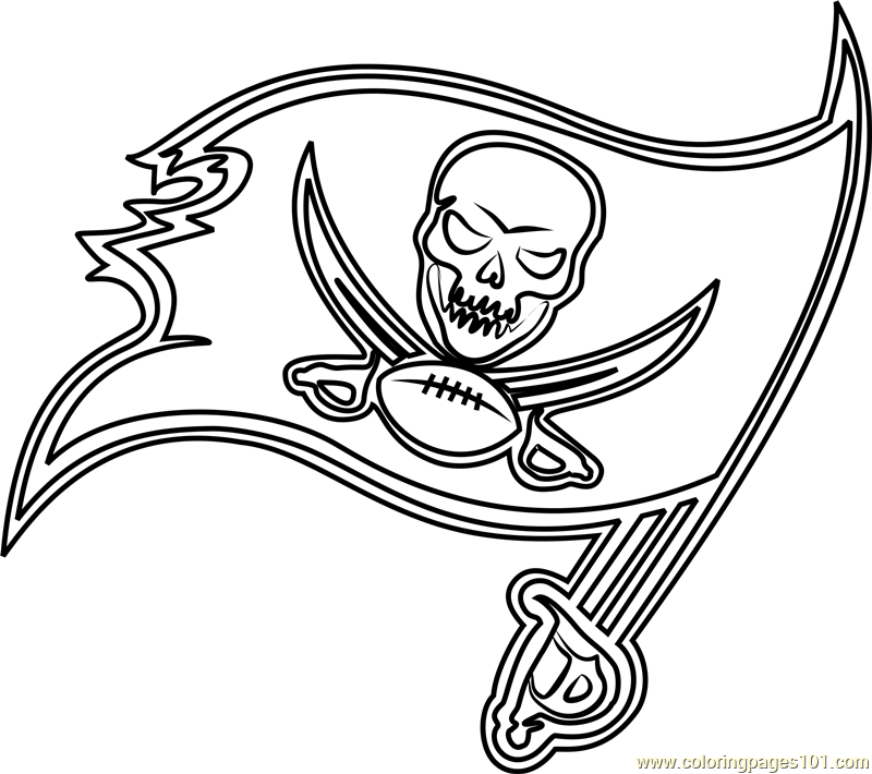 Tampa Bay Buccaneers Coloring Pages At Getdrawings Free Download