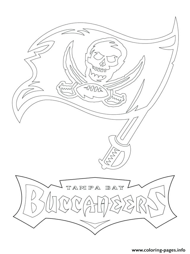 640x853 Tampa Bay Buccaneers Coloring Pages