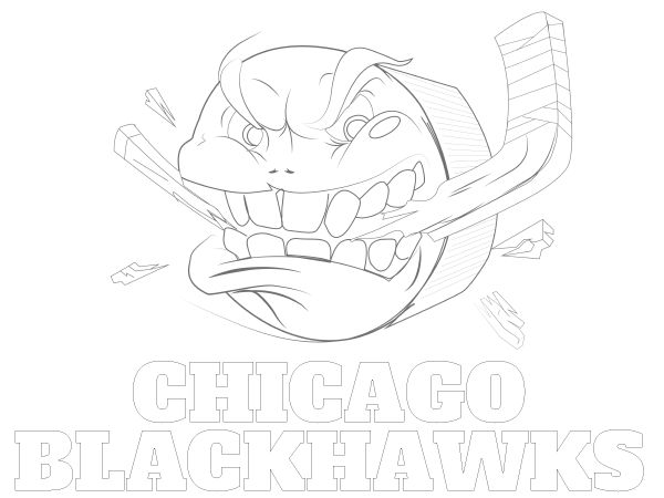 Tampa Bay Lightning Coloring Pages