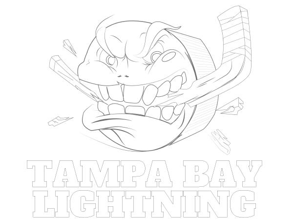 600x450 Printable Tampa Bay Lightning Coloring Sheet Nhl Coloring Sheets