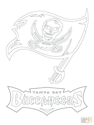 300x400 Tampa Bay Buccaneers Coloring Pages Bay Lightning Logo Coloring