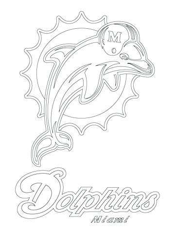 360x480 Tampa Bay Bucs Coloring Pages Dolphins Awesome Logo Coloring Page