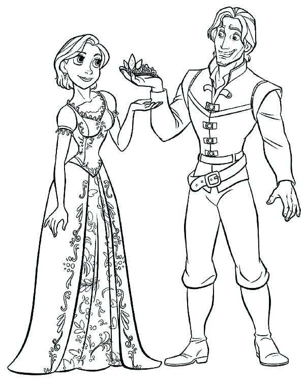 600x762 Disney Tangled Coloring Pages Coloring Pages Coloring Pages